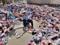 废品站每斤一元收购大量文胸 销毁后做成地毯【图】