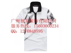 广州男士短袖翻领POLO衫生产加工厂家